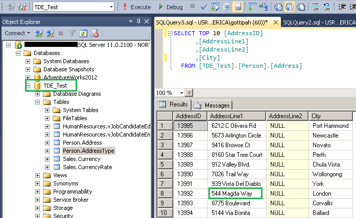 SQL Server –Encrypting and Securing Native Backups Using