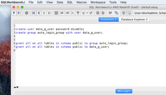 AWS – No Password? No Problem! Generating Redshift